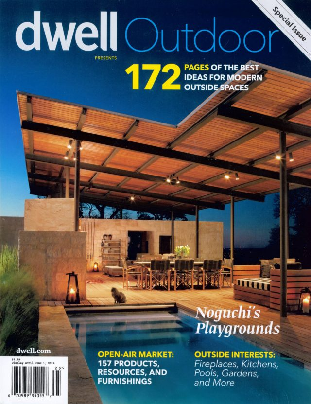 Dwell Outdoor includes the Galley House garden in a special issue on modern outside spaces